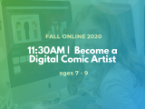 11:30AM | Become a Digital Comic Artist