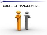 Conflict Management April ONLINE - Spring 2018