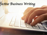 Business Writing April ONLINE - Spring 2018