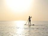 Beginners Stand Up PaddleBoard Yoga