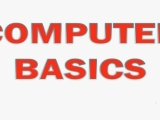 Computer Basics - Session 1 - 12:30-2:30pm