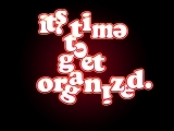 Start Getting Organized