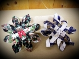 Dimensional Holiday Snowflake Ornaments