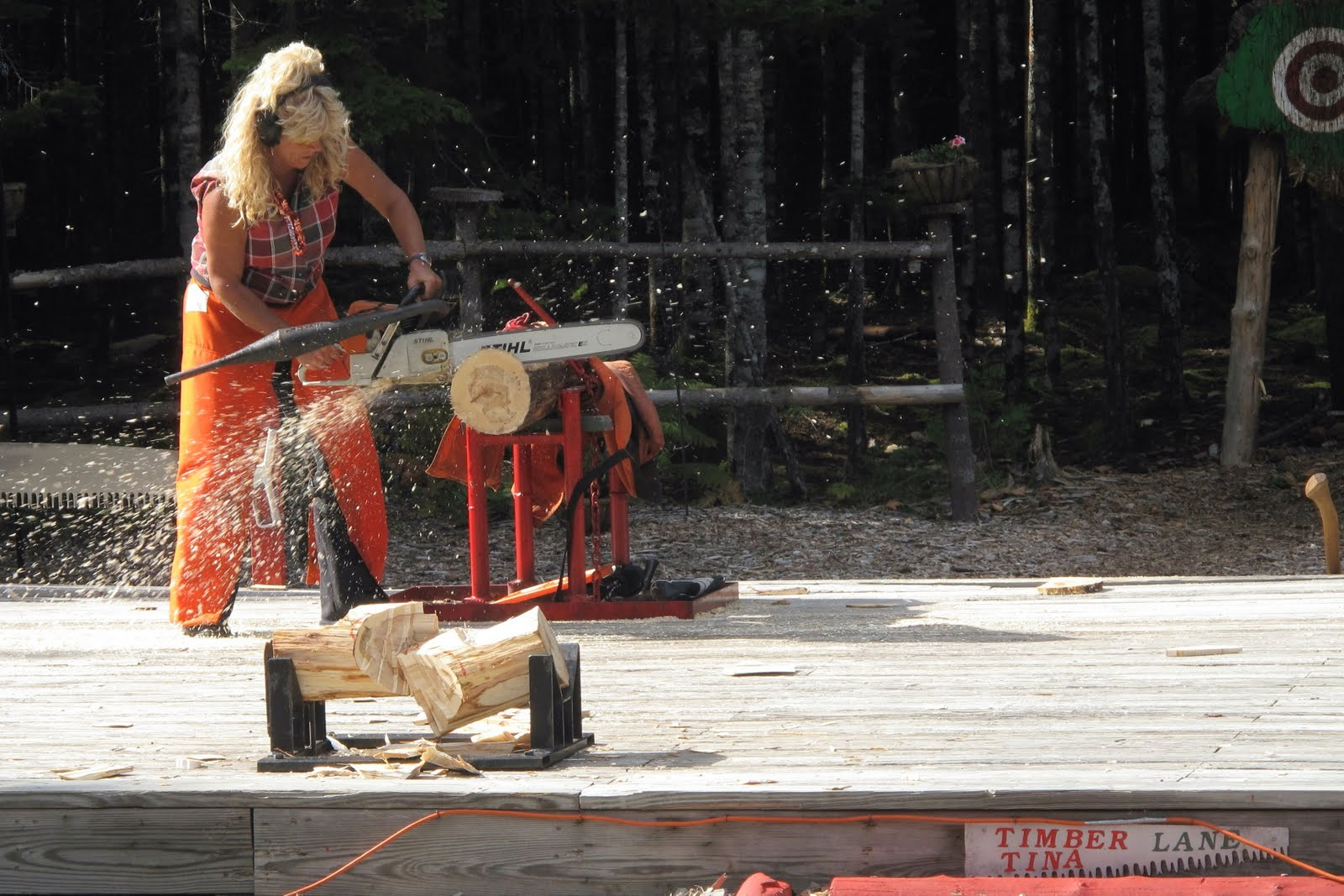 Chain Saw Safety for Women