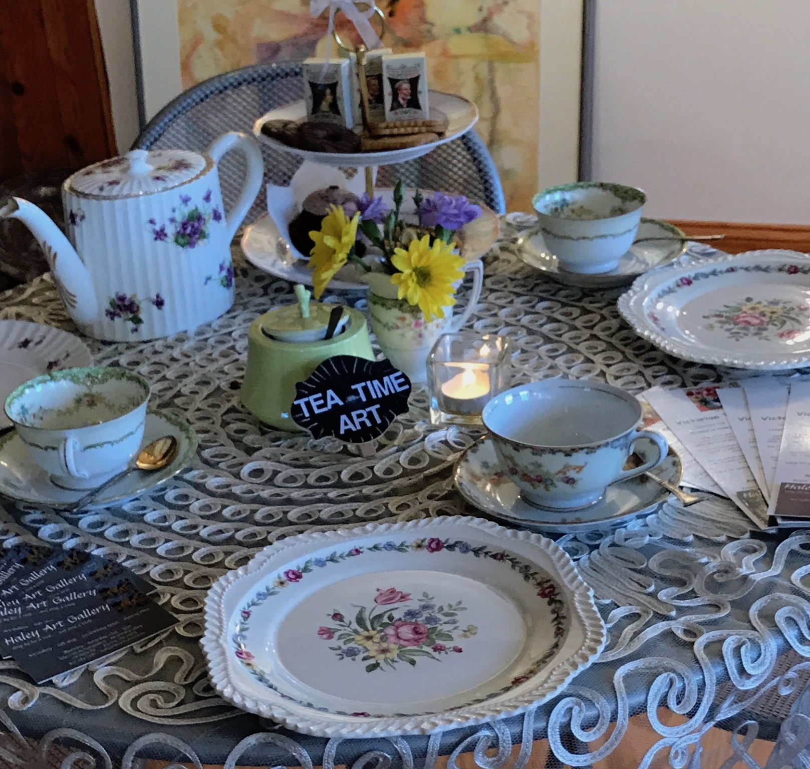Victorian Tea-Time Art