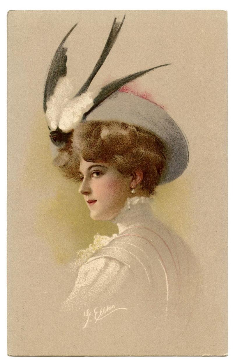 Original source: http://arthurmelvillepearson.com/wp-content/uploads/2012/08/lady-bird-hat-1.jpg