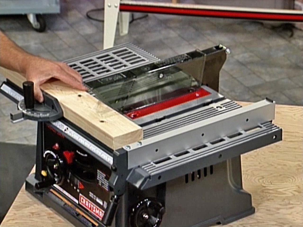 Table Saw Basics (April)