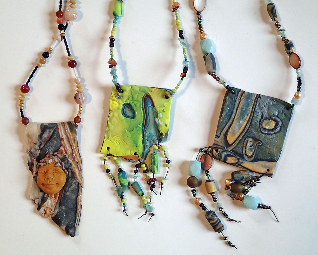 Creating Polymer Clay Jewelry
