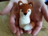 Needle Felt a Red Fox: Live Online