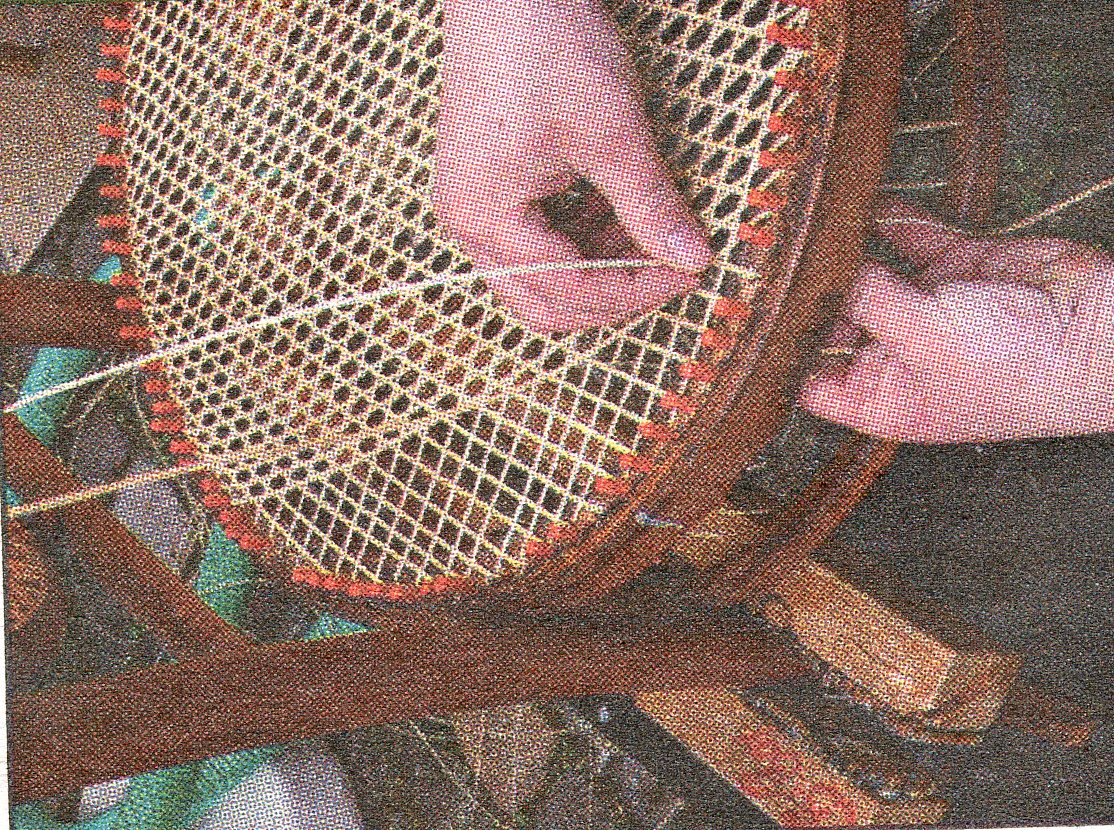 Chair Caning/Knitting Open Studio