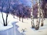 Watercolor Winter Scenes (New) - Torrington