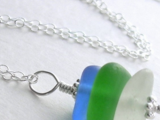 Drilled Sea Glass