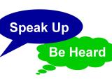 Be Heard! – Through the Glass Ceiling: Leadership Speaking Skills for Women (Spring 2018)