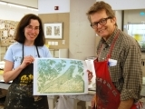 Woodcut and Relief Printmaking,  for 1.0 undergraduate credit