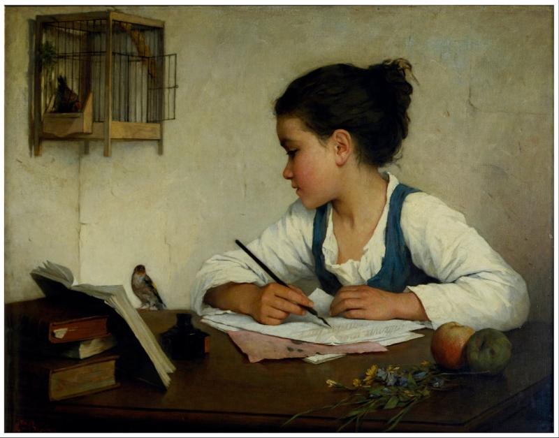 Original source: https://upload.wikimedia.org/wikipedia/commons/thumb/f/f0/Browne%2C_Henriette_-_A_Girl_Writing%3B_The_Pet_Goldfinch_-_Google_Art_Project.jpg/1280px-Browne%2C_Henriette_-_A_Girl_Writing%3B_The_Pet_Goldfinch_-_Google_Art_Project.jpg