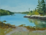 Not  Your Ordinary Paint Night - Maine Landscape