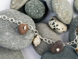 Art Night Out - Stone Charm Bracelet