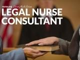 Legal Nurse Consultant 8/26