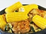 Corn and Chicken Dinner