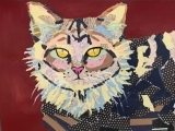 Make a Beautiful Paper Collage of Your Pet