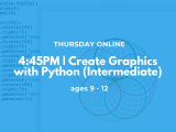4:45PM | Create Graphics with Python (Intermediate)