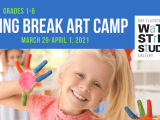Spring Break Art Camp (grades 1-3)