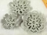 Porcelain Snowflake Wkshop II