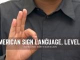 American Sign Language: Level I - Session II