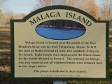 Historical Malaga Island Sea Kayaking Tour