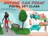 Anyone Can Draw Digital (Intermediate) July 5 - July 9