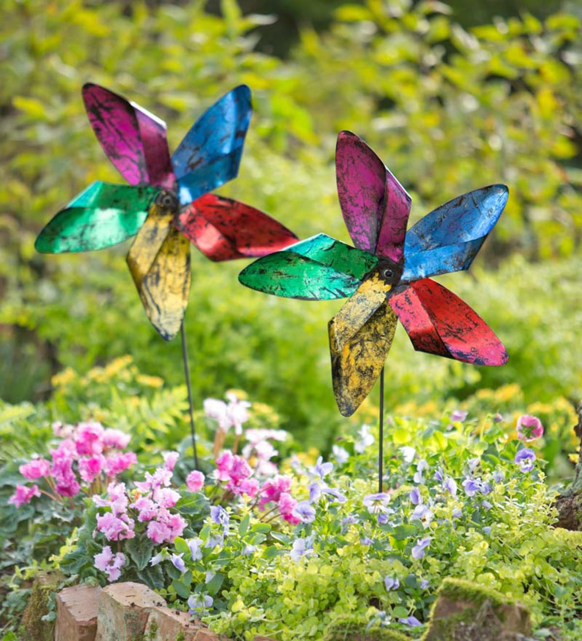 Family Fun Night: Create A Pinwheel Garden