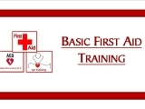 Basic First Aid Training Class ~ TBA