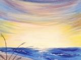 Paint Night - Beach Scene