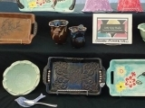 Ceramic Tray Decorating