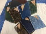 Make a Wallet from Fish Leather
