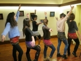 Middle Eastern Belly Dance Drills & Thrills