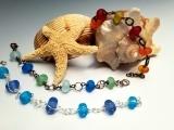 Make a Beach Glass Bracelet