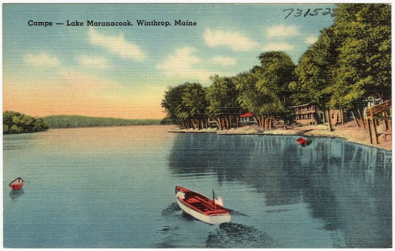 Original source: https://upload.wikimedia.org/wikipedia/commons/thumb/0/0b/Camps_--_Lake_Maranacook%2C_Winthrop%2C_Maine_%2873152%29.jpg/1280px-Camps_--_Lake_Maranacook%2C_Winthrop%2C_Maine_%2873152%29.jpg