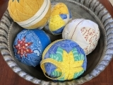 Quilted No Sew Decorative Balls