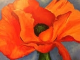 Art in an Evening: The O'Keefe Poppy,  Messalonskee F17