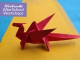 Origami Butterfly Mobiles