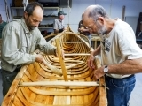 Birch Bark Canoe Project