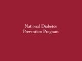 Diabetes Prevention Program - YMCA Boothbay Harbor