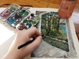 The Art of Sketchbooks, Virtual Course. Ages 10-13