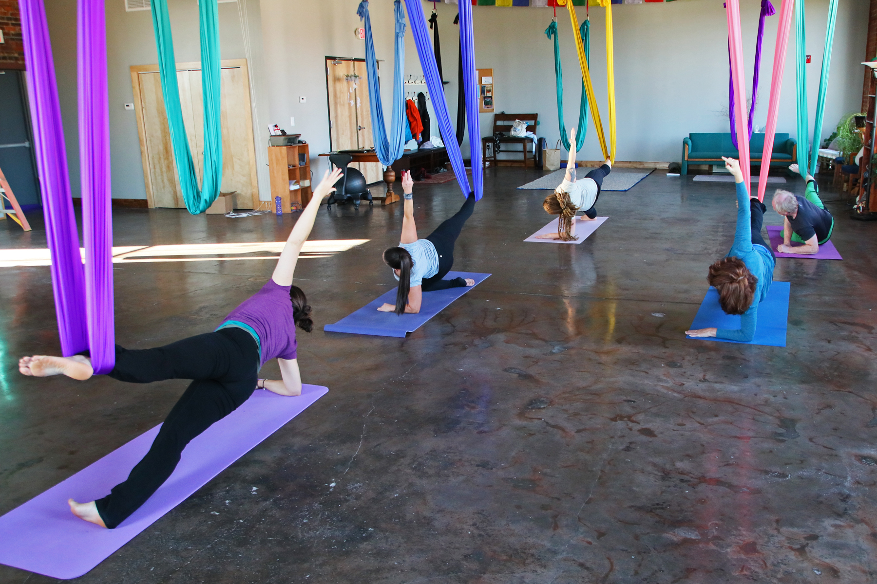 Thursday PM Aerial Yoga (DSY)