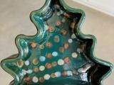 Pottery Wheel - Holiday Tree Dish - 2 Day Workshop