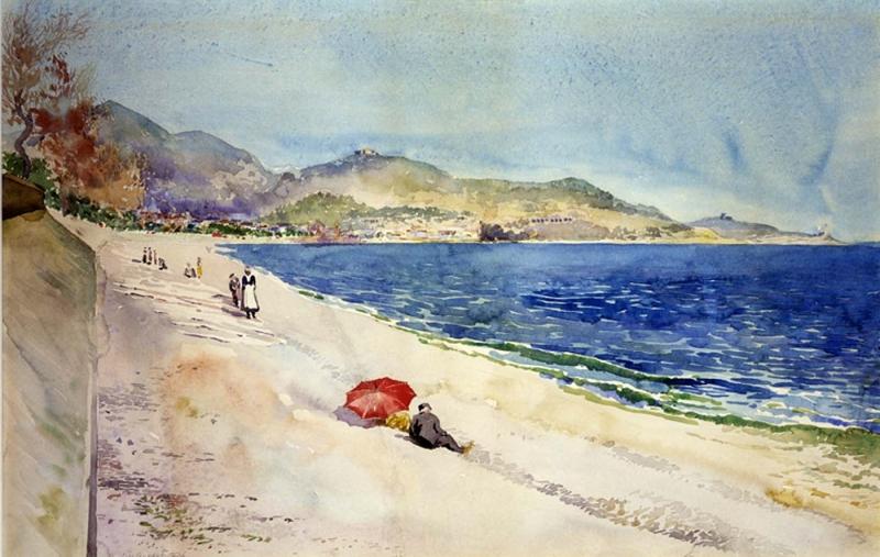 Original source: https://upload.wikimedia.org/wikipedia/commons/7/75/Cass_Gilbert_-_On_the_Beach_below_the_Promenade_des_Anglais%2C_Nice%2C_France_-_1962.13.31_-_Smithsonian_American_Art_Museum.jpg