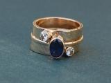 Silver Bezel Ring
