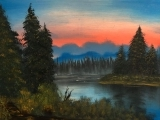 Beginners Acrylic: Landscape Painting