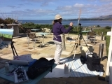 Plein Air Painting in Donegal, Ireland - LIVE from Home! (ONLINE) PT 605DI_ON